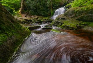 Falls, Waterfalls, elekala, green, june, water, west virgina