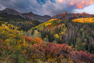 Sneffels Range Autumn Sunrise