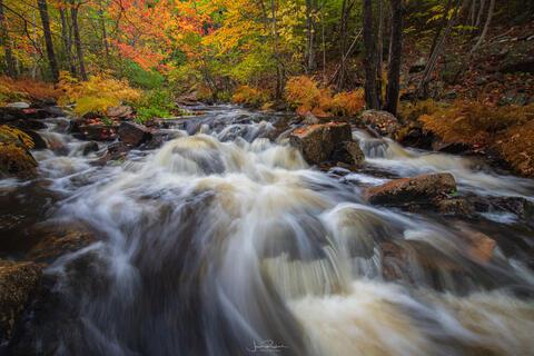 Duck Brook Waterfalls