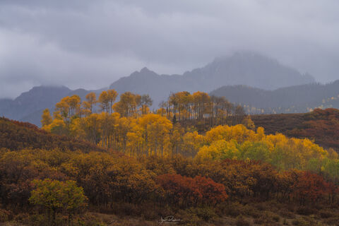 Mount Sneffels Shrouded