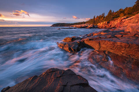 Acadia's Granite Coastline