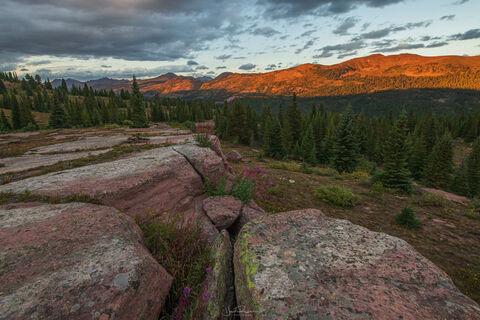 Shrine Ridge Sunset