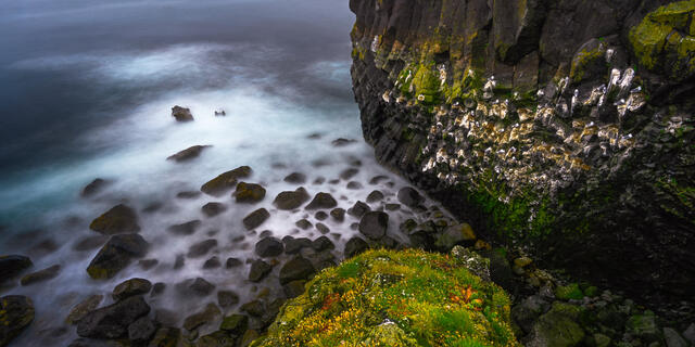 Iceland seascape fine art photographic print for sale.