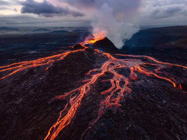 Fagradalsfjall Volcano eruption Iceland fine art prints for sale.