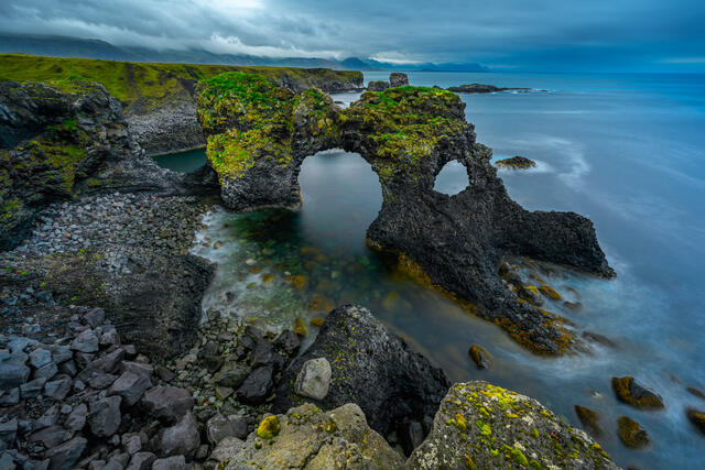 Iceland seascape fine art landscape photography print for sale.