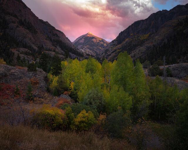 Abrams Mountain Sunset