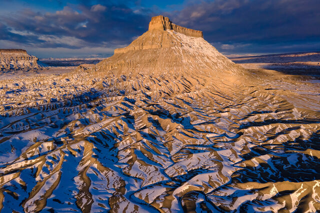 Winter at Factory Butte
