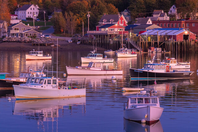 Bass Harbor Boats