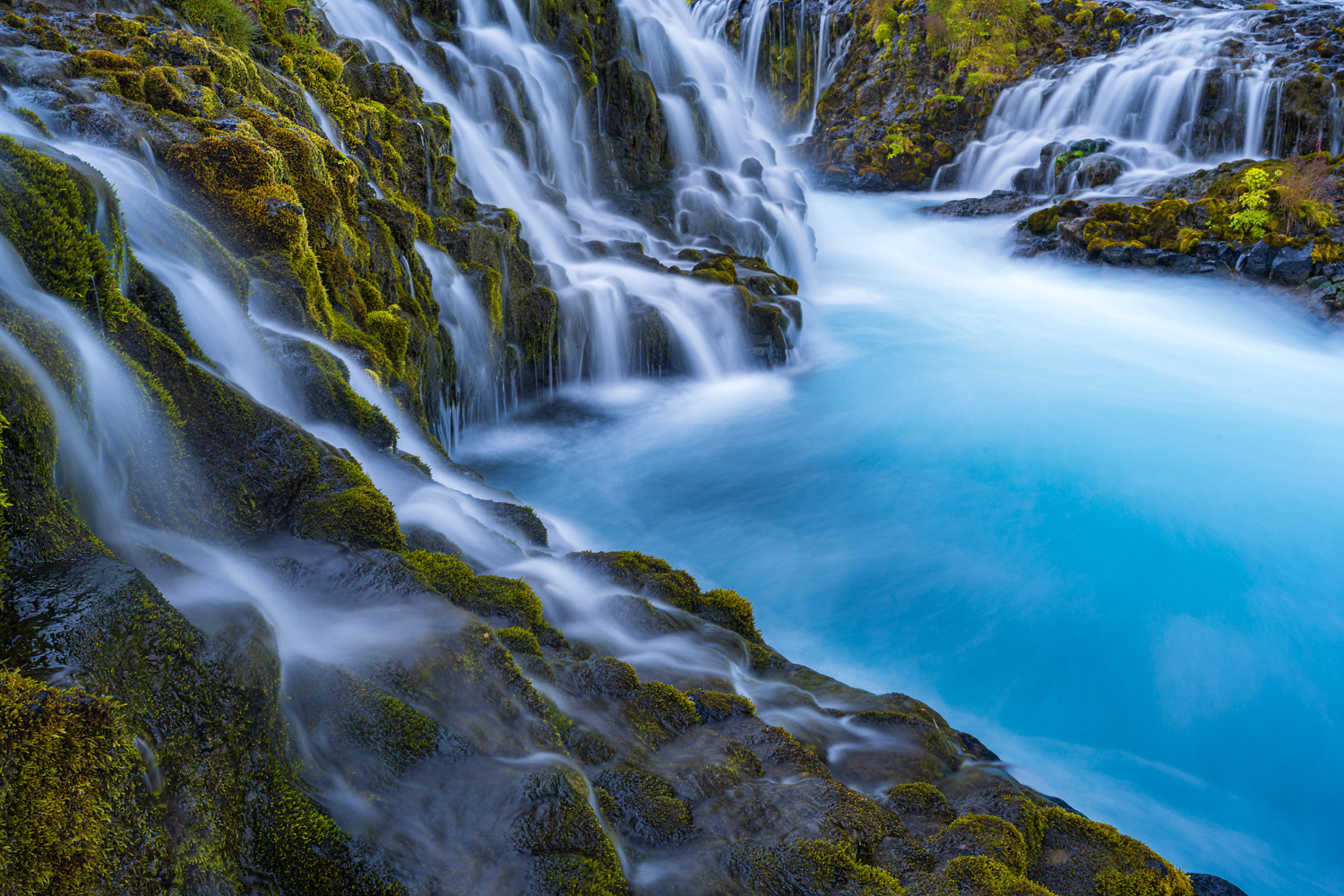Bruarfoss Waterfall in Iceland photographic print for sale.