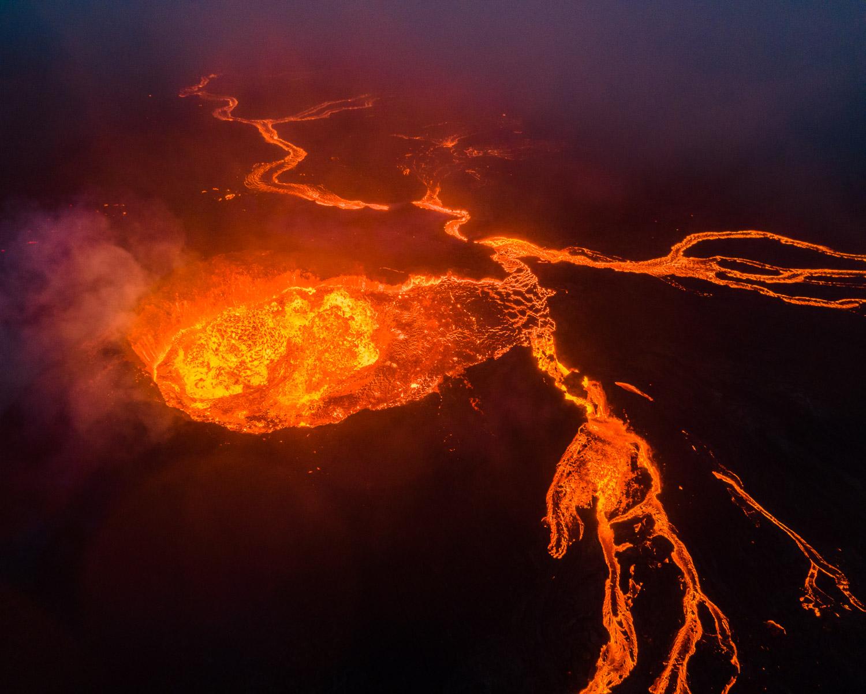 Fagradalsfjall Volcano, Iceland.