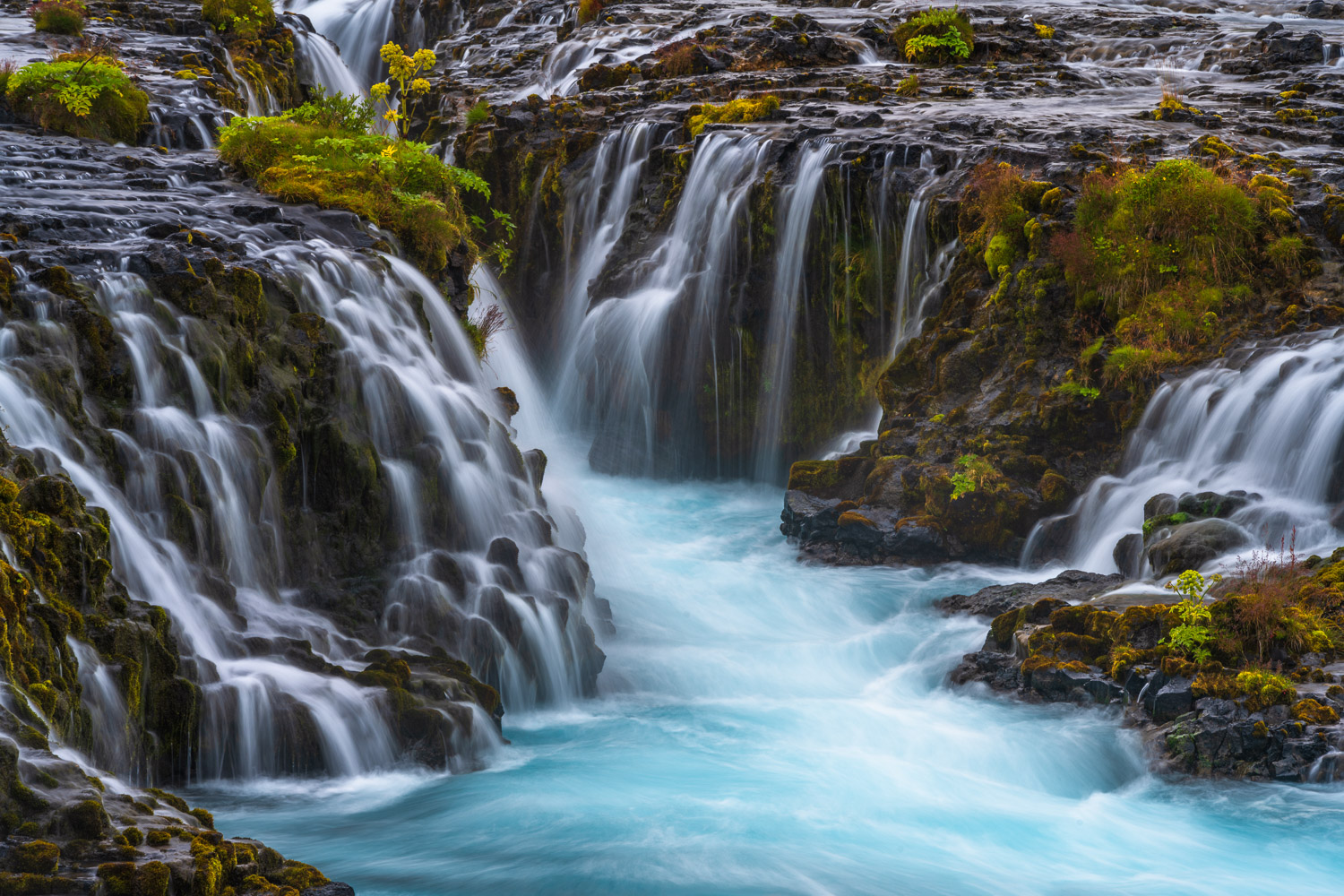 Enhance your space with Joseph's limited edition fine art print, Brúarfoss, showcasing the raw power and beauty of the Icelandic...