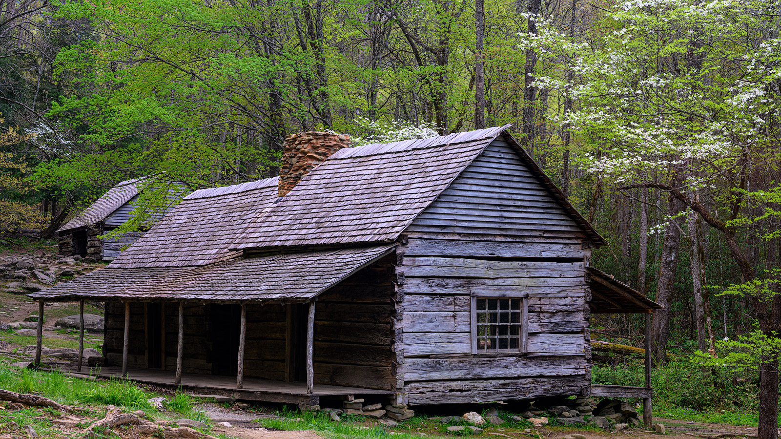 "The Bud Ogle Cabin, built in the late 19th century by it's namesake, Noah ""Bud"" Ogle, was a farm and cabin located in the..."