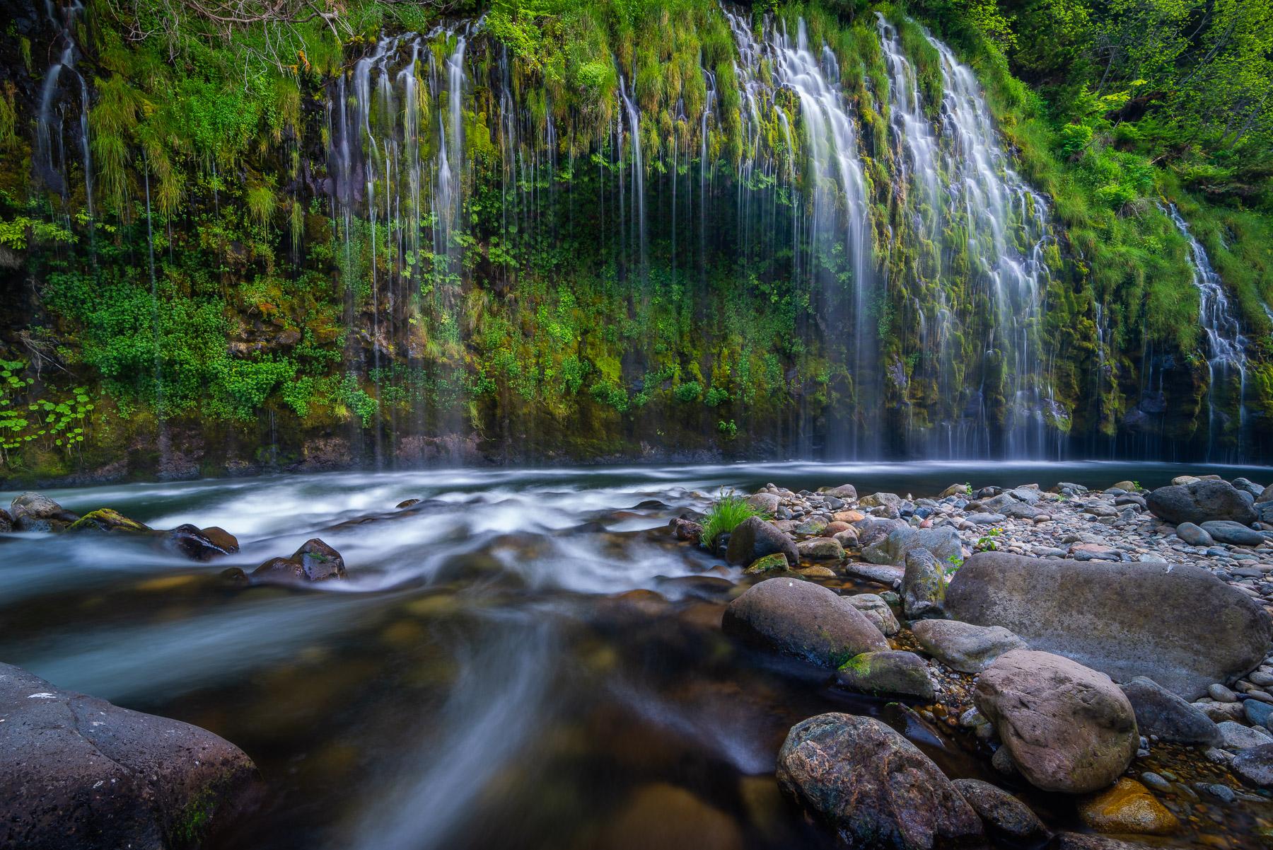 Mossbrae Falls, California.