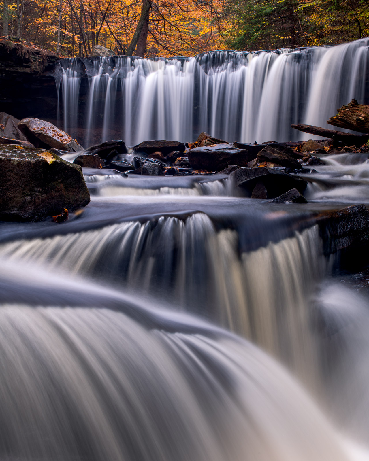Limited Edition of 50 Ricketts Glen State Park has some of the most beautiful waterfalls in the Eastern United States. Tucked...
