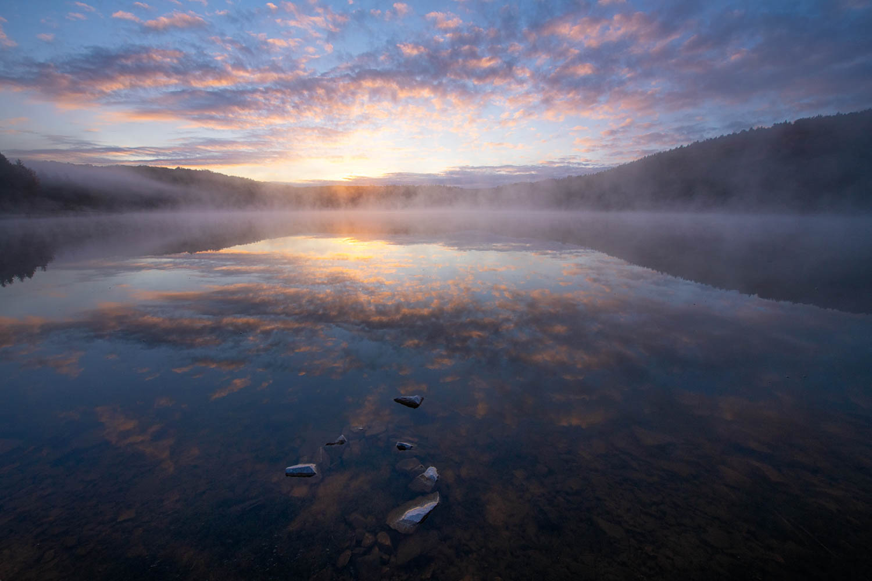 Spruce Knob Lake, Monongahela National Forest Fine Art Prints for sale.