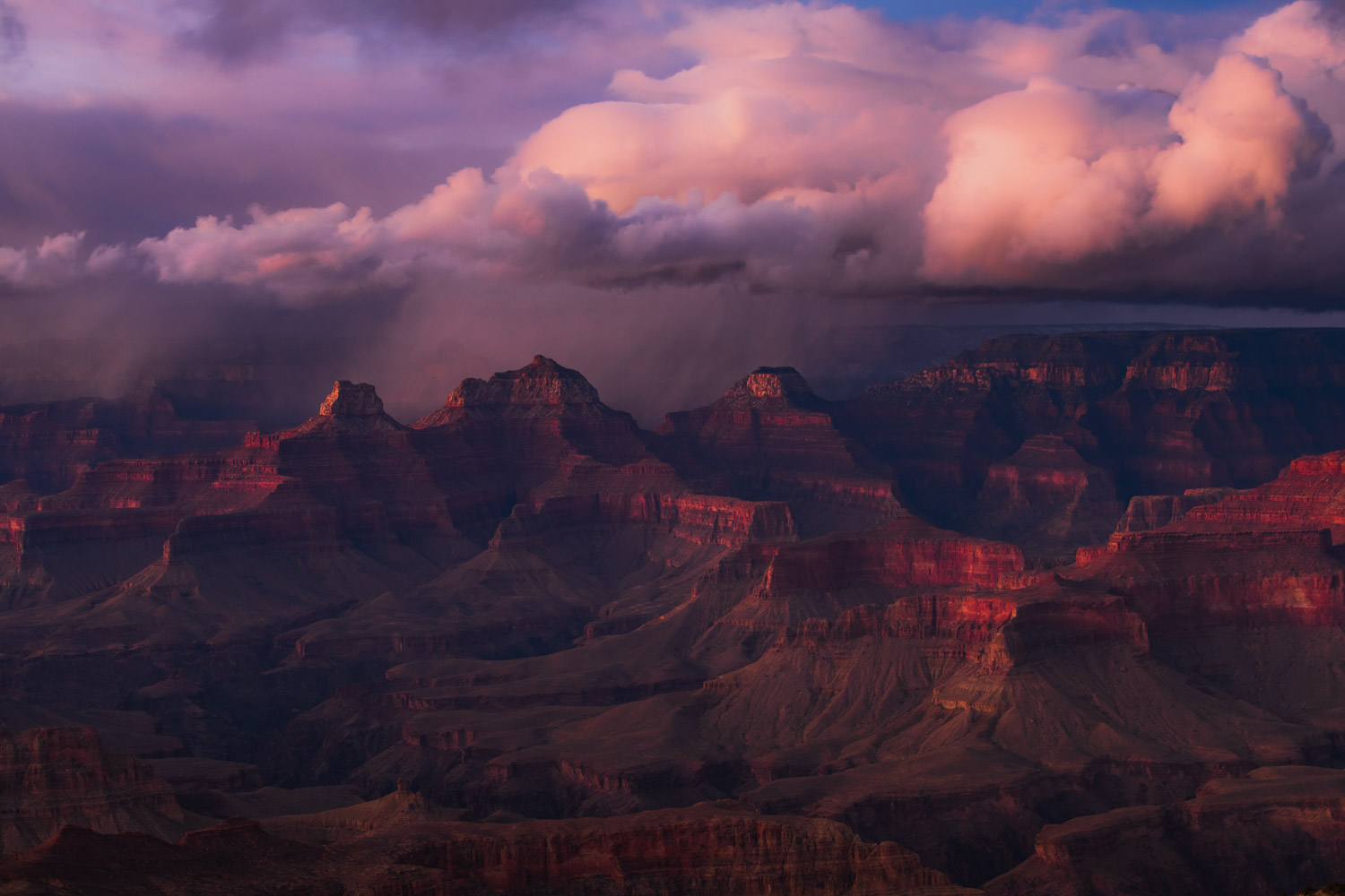 Limited Edition of 50 In the winter of 2018, I took an extended trip to the Colorado Plateau in hopes of chasing winter storms...
